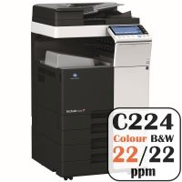 Colour Copier Lease Rental Offer Konica Minolta Bizhub C224 22 ppm