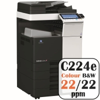 Colour Copier Lease Rental Offer Konica Minolta Bizhub C224e 22 ppm