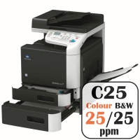 Colour Copier Lease Rental Offer Konica Minolta Bizhub C25 25 ppm