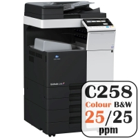 Colour Copier Lease Rental Offer Konica Minolta Bizhub C258 25 ppm