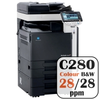Colour Copier Lease Rental Offer Konica Minolta Bizhub C280 28 ppm