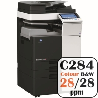 Colour Copier Lease Rental Offer Konica Minolta Bizhub C284 28 ppm