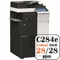 Colour Copier Lease Rental Offer Konica Minolta Bizhub C284e 28 ppm