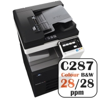 Colour Copier Lease Rental Offer Konica Minolta Bizhub C287 28 ppm