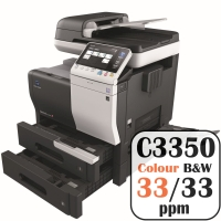 Colour Copier Lease Rental Offer Konica Minolta Bizhub C3350 33 ppm