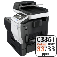 Colour Copier Lease Rental Offer Konica Minolta Bizhub C3351 33 ppm