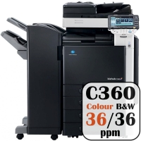Colour Copier Lease Rental Offer Konica Minolta Bizhub C360 36 ppm
