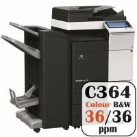 Colour Copier Lease Rental Offer Konica Minolta Bizhub C364 36 ppm