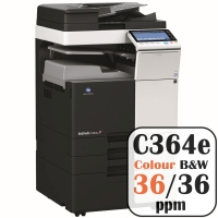 Colour Copier Lease Rental Offer Konica Minolta Bizhub C364e 36 ppm