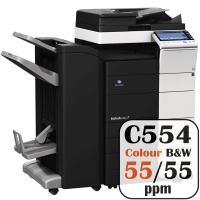 Colour Copier Lease Rental Offer Konica Minolta Bizhub C554 55 ppm