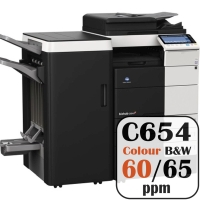 Colour Copier Lease Rental Offer Konica Minolta Bizhub C654 65 ppm