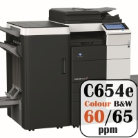 Colour Copier Lease Rental Offer Konica Minolta Bizhub C654e 65 ppm