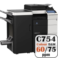 Colour Copier Lease Rental Offer Konica Minolta Bizhub C754 75 ppm