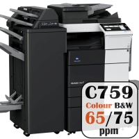 Colour Copier Lease Rental Offer Konica Minolta Bizhub C759 75 ppm