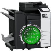 Colour Copier Lease Rental Offer Konica Minolta Bizhub C250i DF-632 PC-216 FS-536SD