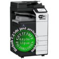 Colour Copier Lease Rental Offer Konica Minolta Bizhub C250i DF-632 PC-216 JS-506