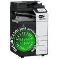 Colour Copier Lease Rental Offer Konica Minolta Bizhub C250i DF-632 PC-216 JS-506